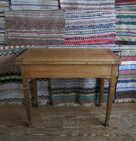 antique Swedish game table