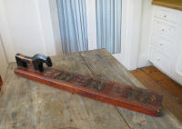 antique Norwegian mangleboard