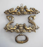antique Danish bell pull hardware