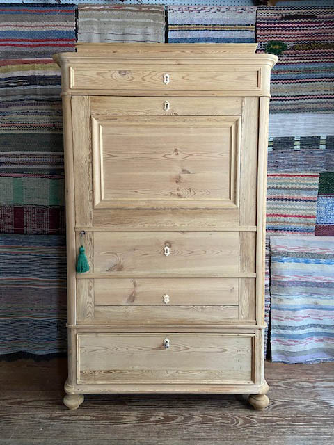 Danish false secretary armoire