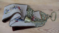 needlepoint bell pull