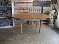 antique Danish oval table