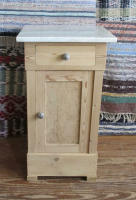antique Danish nightstand