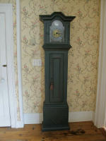 antique Swedish baroque clock