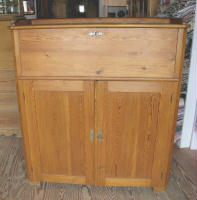 antique Swedish secretary