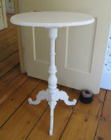 antique Swedish candlestand