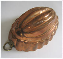 antique swedish copper mold